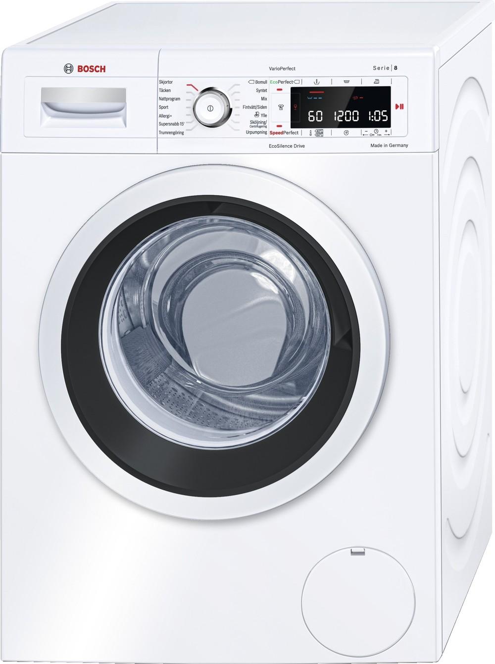 Den bedste Bosch vaskemaskine